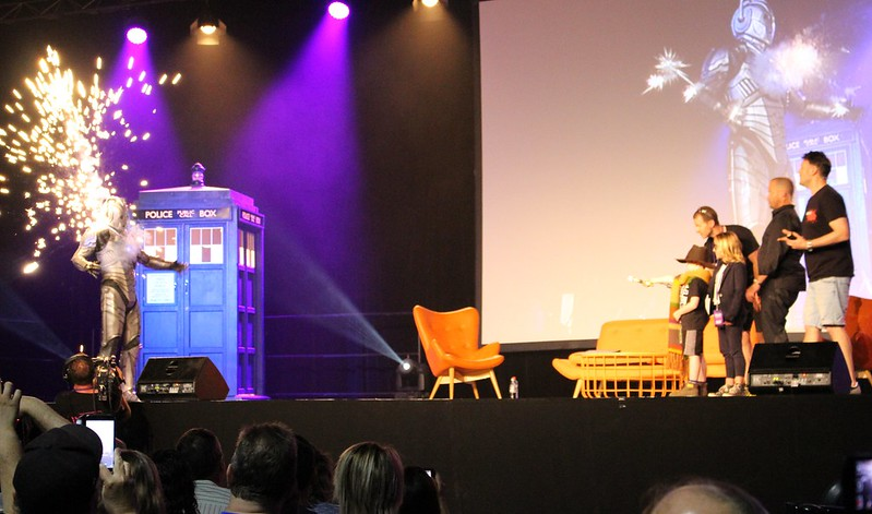 Doctor Who Festival Sydney: A Cyberman gets his comeuppance