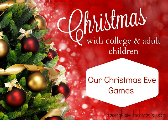 Christmas With College and Adult Children: Our Christmas Eve Games
