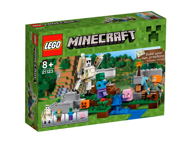 LEGO Minecraft 21123 - The Iron Golem