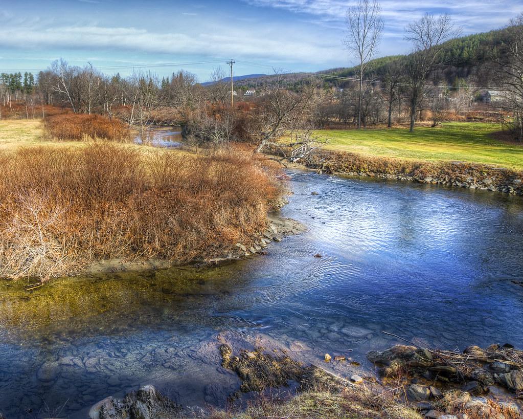 Creek Through Stowe
