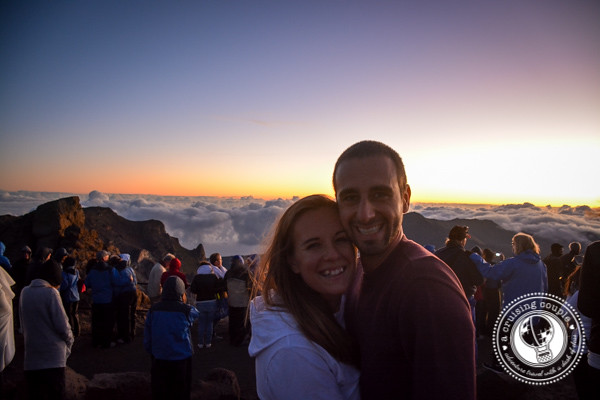 A Cruising Couple on Mount Haleakala Maui Hawaii