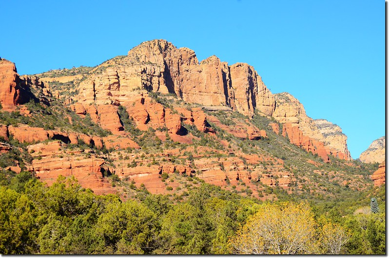 The Red Rocks are taken from the Boynton Pass Road 4