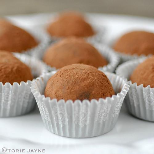 Handmade Grand Marnier Chocolate Truffles