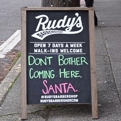 Don't Bother Coming Here, Santa