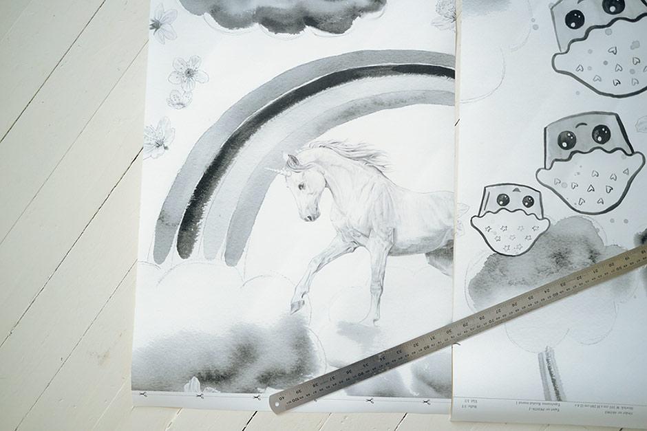 Wallpaper design by Jutta Rikola