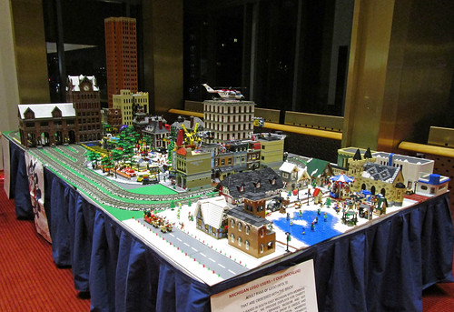 MichLUG LEGO Display at Detroit's Orchestra Hall / Max M. Fisher Music Center 2015