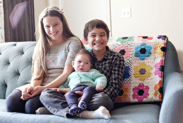 my children, Dec 2015