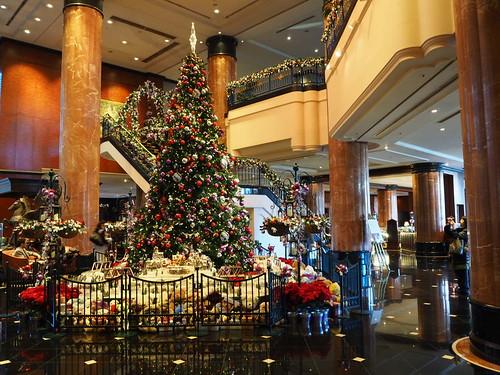 ウエスティン・恵比寿のクリスマスツリー