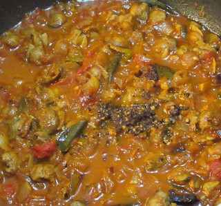 Clam Meat Masala Step - 8