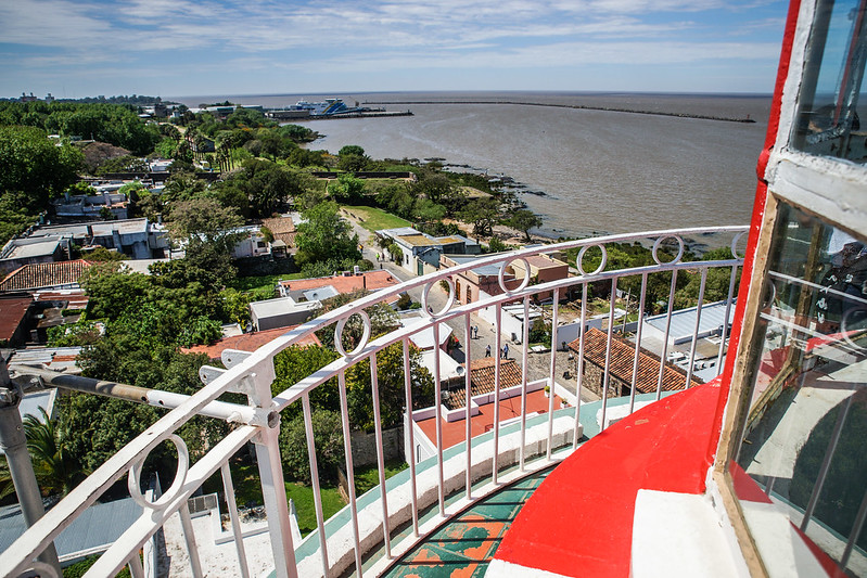 A view from the lighthouse uruguay colonia