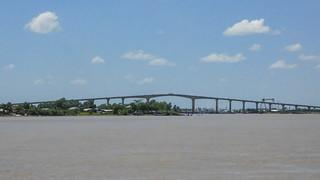 Image of Wijdenboschbrug. suriname paramaribo surinam sr