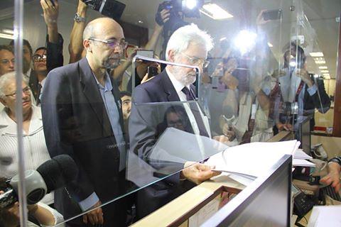 Lideranças do PSOL protocolam pedido de impeachment de Michel Temer nesta segunda-feira (28) - Créditos: PSOL