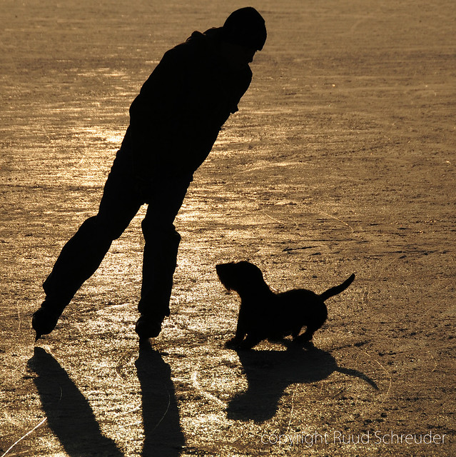 Silhouettes on ice (explored)