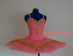 Coral Tutu for Le Corsaire  or Paquita