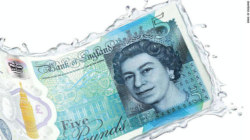Bank of England £5 banknote