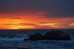 Sunset at Land