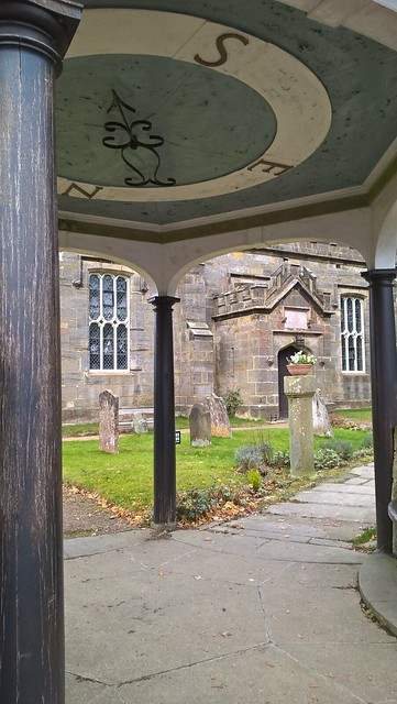 Lych Gate, church of St Alban, Frant, Sussex
