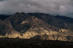 1701 Sun on the Santa Catalina Mountains