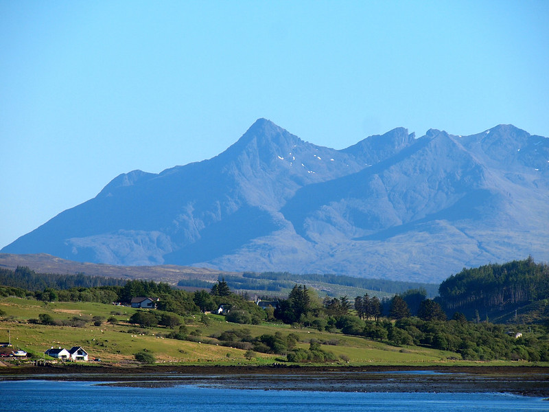 Cuillin Hills on the Isle of Skye