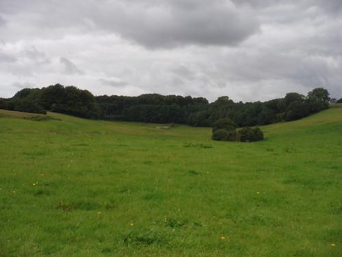 U-shaped valley near Wick