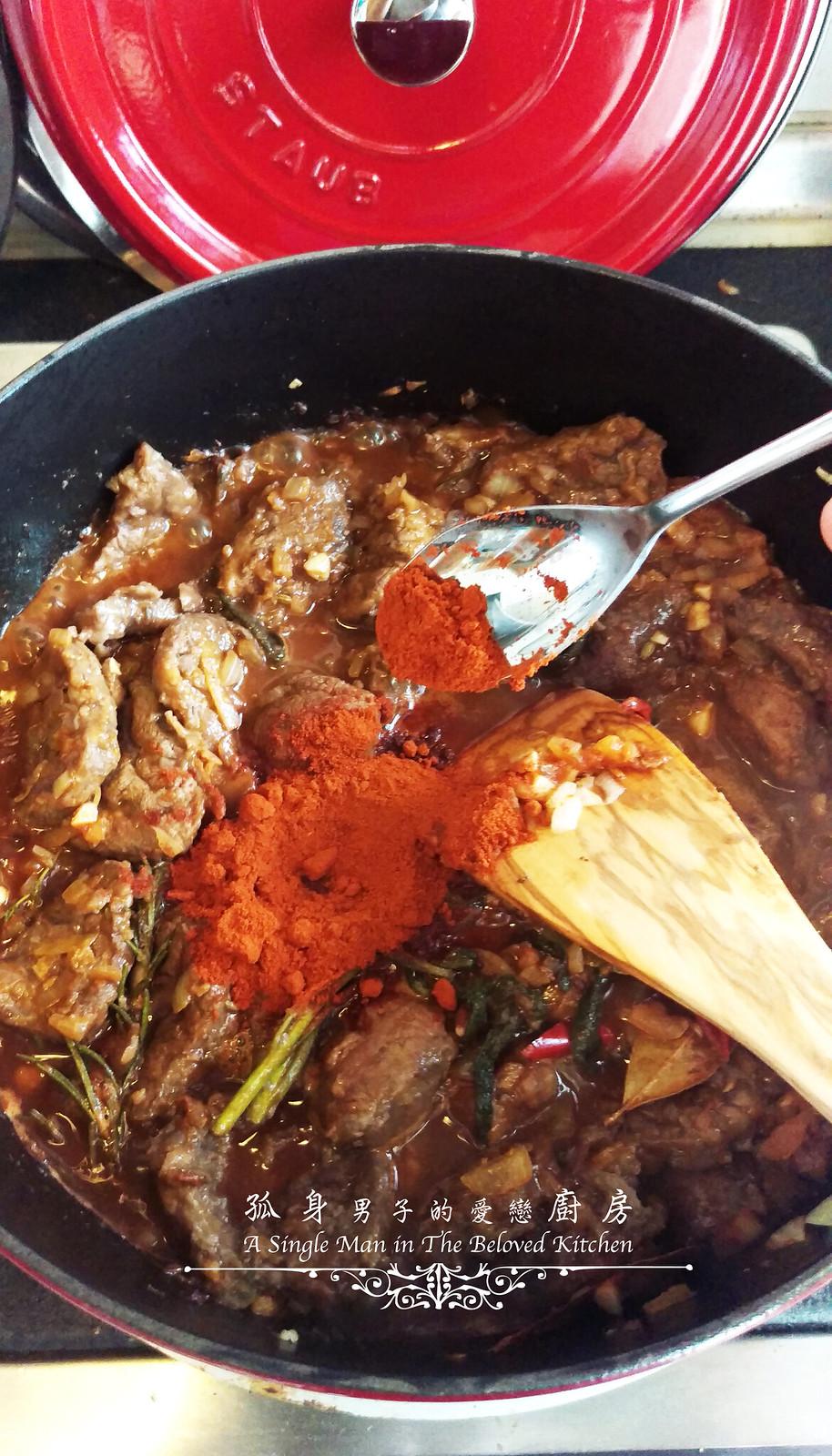 孤身廚房-香草使用不手軟!我的招牌香料燉牛肉21