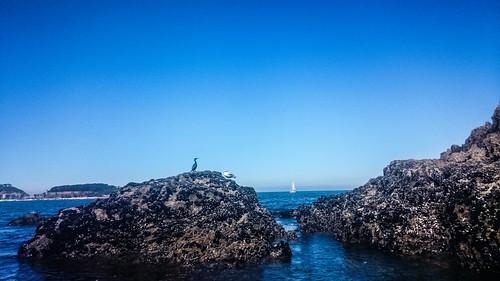 Illa da Garza, sur