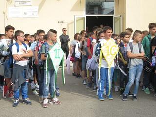 Rutigliano-Campanella d'inizio anno alla scuola media Manzoni (21)