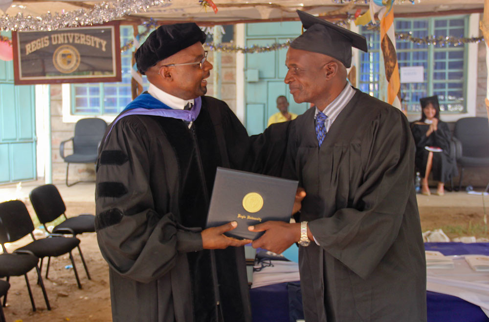 Kakuma: graduates of higher education