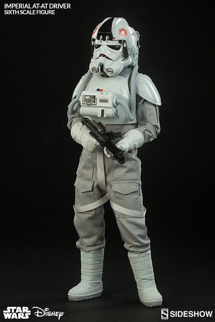 Sideshow Collectibles【AT-AT 駕駛員】AT-AT Driver 星際大戰 1/6 比例作品
