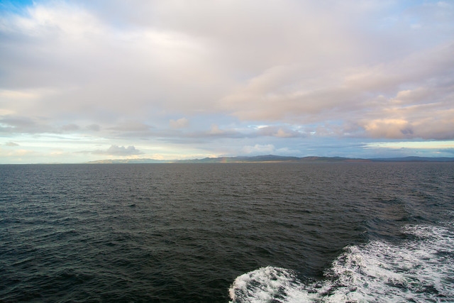 Landing to Islay by ferry#夢見た英国文化