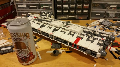 This counts as one beer, right? SHIP for scale.