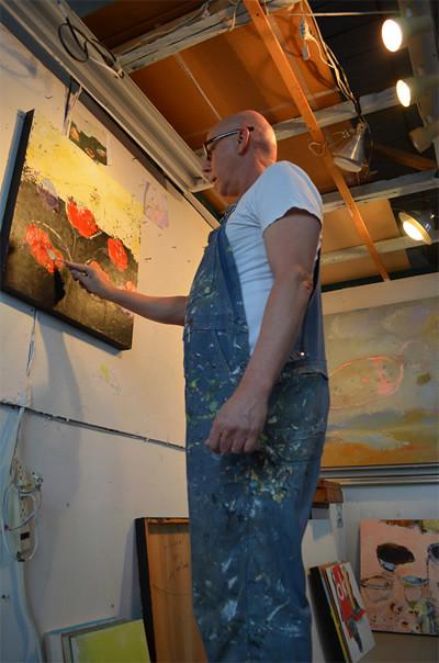 Joerg Fraske at Vernon Street Studios