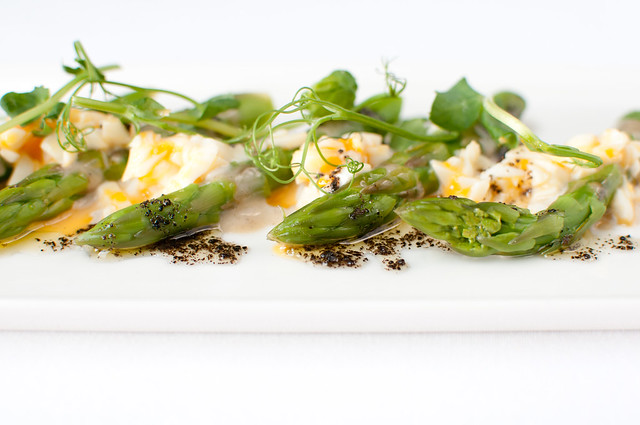 Asparagus and baby gem salad with pecorino © ROH Restaurants 2015