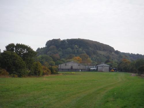 Sharpenhoe Iron Age Hillfort Site and Bury Farm