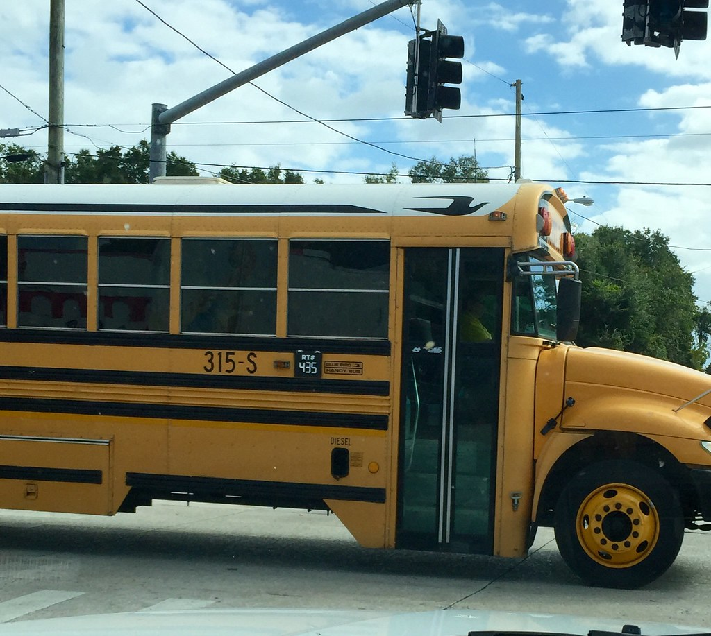 Volusia County School Bus - a photo on Flickriver