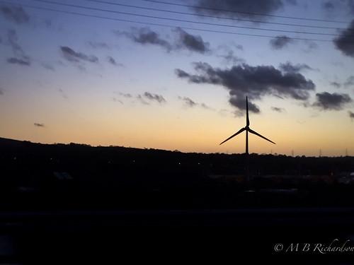 sunset motorway nireland antrim iphone coantrim 365in2015