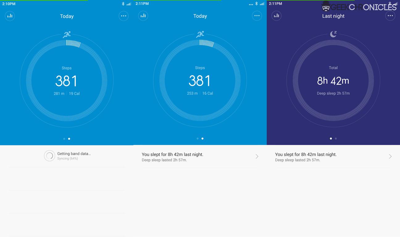 Xiaomi Mi Fit Aplication