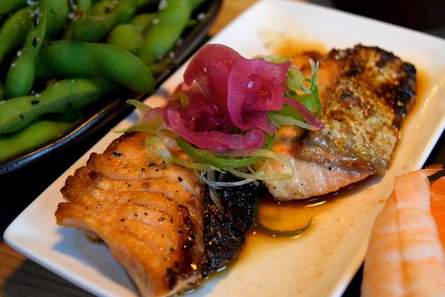 Salmon Teriyaki at Murakami, Covent Garden | www.rachelphipps.com @rachelphipps