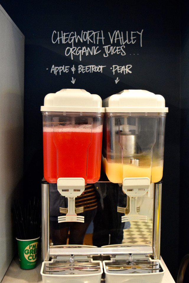 Chegworth Valley Juices at Little Joe's Deli, Canterbury | www.rachelphipps.com @rachelphipps