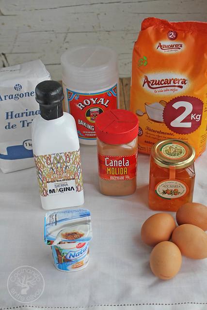 Bizcocho de mermelada de naranja amarga www.cocinandoentreolivos.com (11)