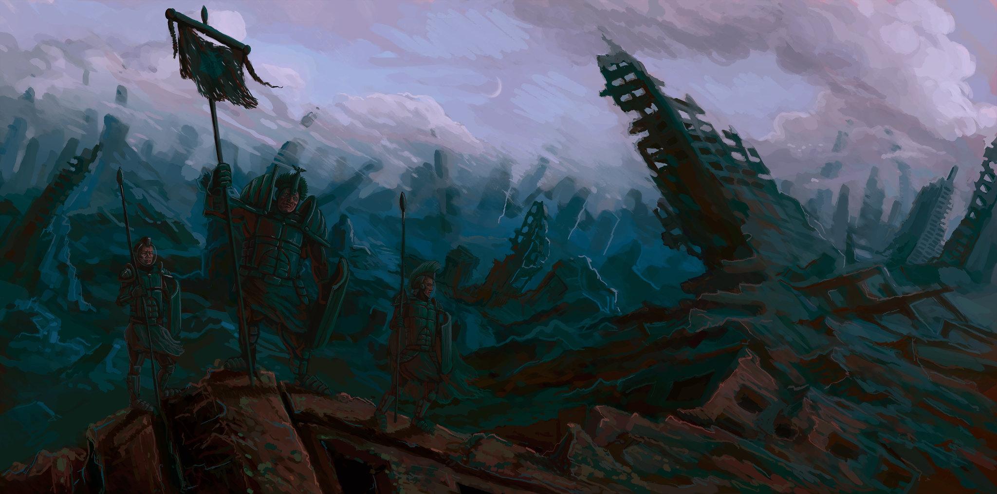 Vexillum in Desolationem