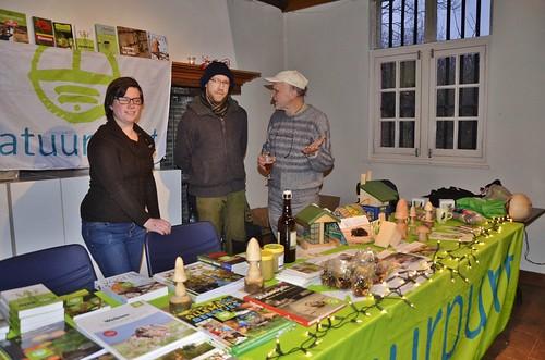 An, Wouter en Mark verzorgen de Groene Winkel