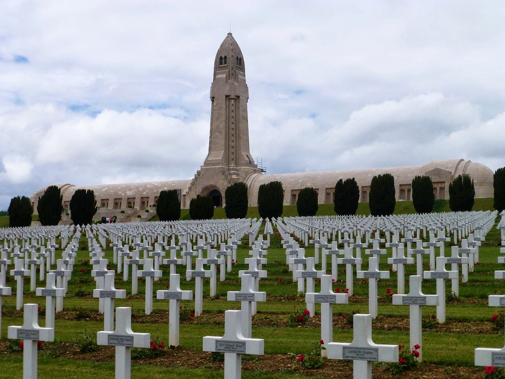 Ossuary of Douaumont, Verdun, France