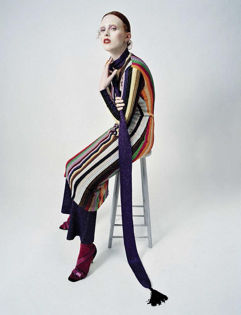 Карен Элсон — Фотосессия для «Vogue» IT 2015 – 2