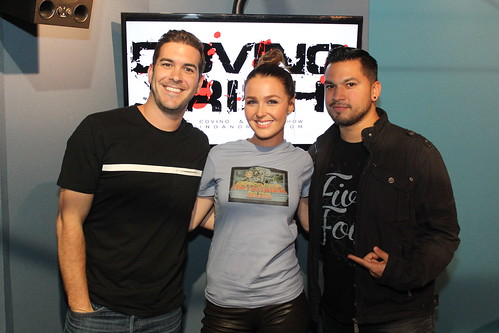 Camilla Luddington on the Covino & Rich Show