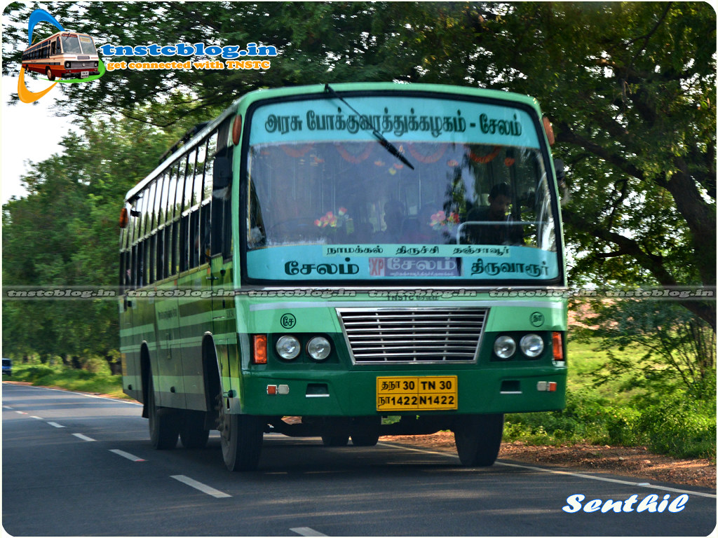 TNSTC Salem - Thiruvarur