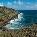 St. Maarten Coastline Along Guana Bay Trek