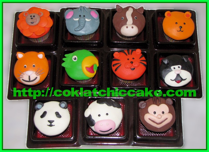 Minicupcake Binatang
