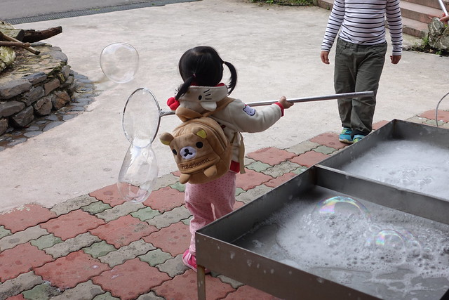 可以吹大泡泡的工具@宜蘭香格里拉休閒農場