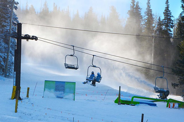 Arizona Snobowl snowmaking